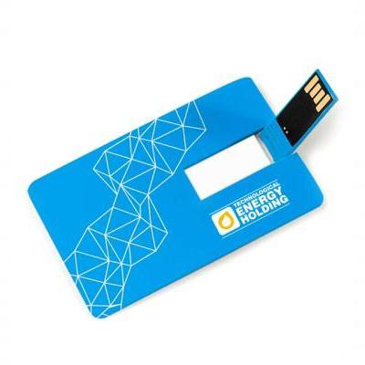 Флешка-кредитка Business card